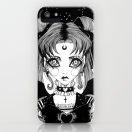 Sailor Goth Moon iPhone Case