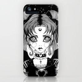 Sailor Goth Moon iPhone Case