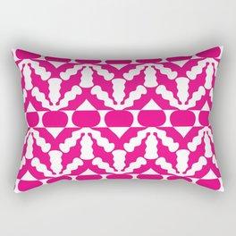 Radish Pop Art Rectangular Pillow