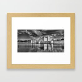 Leeds Castle Reflections Framed Art Print