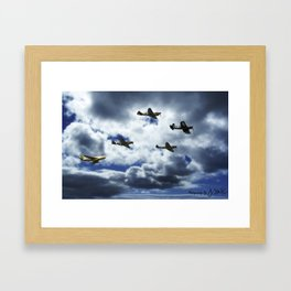 5 Aces Framed Art Print