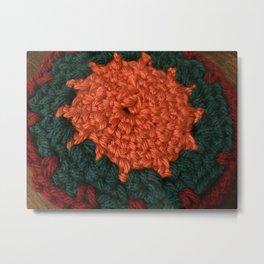 Love sun crochet Metal Print