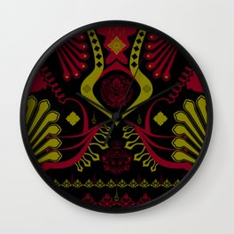 Thai-Shirt .:the jaws of the demon - PG Wall Clock