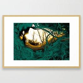 root roof Framed Art Print