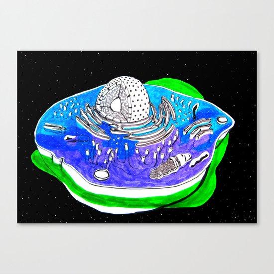 Animal Cell Canvas Print