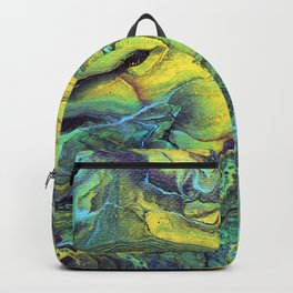 Melting Mountains Abstract Backpack