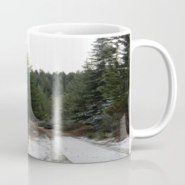 First winter snow.. Coffee Mug