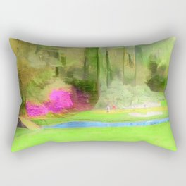 The Masters Golf - The Masters 12th Hole - Augusta National Golf Club Rectangular Pillow