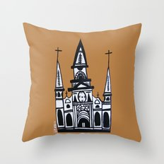 I Heart St. Louis Cathedral  Throw Pillow