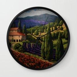 Tuscany Wall Clock