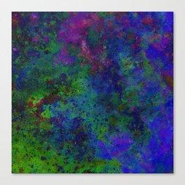 HANDPAINTED SPACE Canvas Print