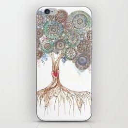Broken Tree iPhone Skin