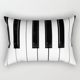 Piano Keys Rectangular Pillow