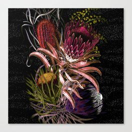 Australian Native Flora Canvas Print