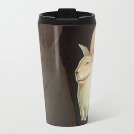 smile rabbit Travel Mug
