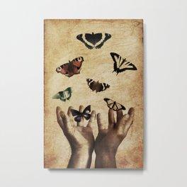 Butterflies Free Metal Print