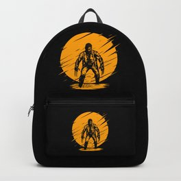 Yellow Logan Backpack
