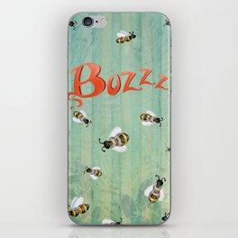 Buzzz iPhone Skin
