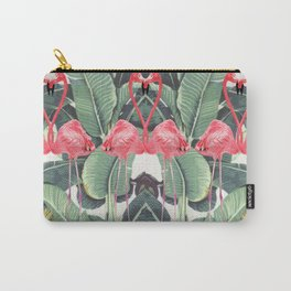 Flamingo Lovers Carry-All Pouch