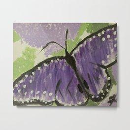 Primitive Butterfly Metal Print