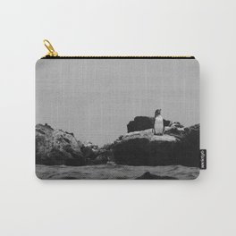 Pondering Penguin Carry-All Pouch