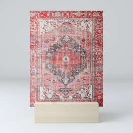 N62 - Vintage Farmhouse Rustic Traditional Moroccan Style Artwork Mini Art Print