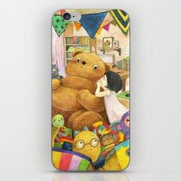Secret | Children's illustration iPhone Skin
