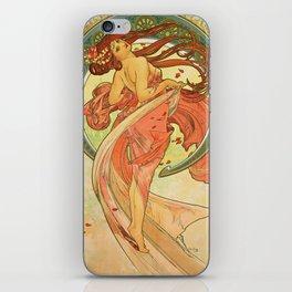 Alphonse Mucha - Dance iPhone Skin