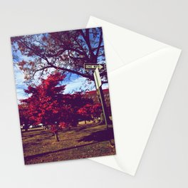 Fall My Way | Red Stationery Cards