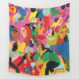 Life is a Party Wall Tapestry
