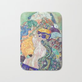 Gustav Klimt Baby (Cradle) Bath Mat