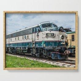 BN-1 EMD Diesel Electro Motive Train Locomotive Vintage Railroad Engine Serving Tray