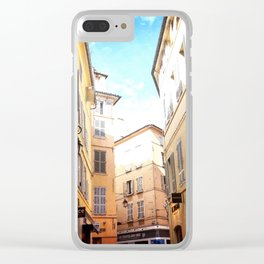 Cezanne land. Clear iPhone Case