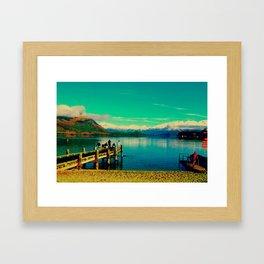 Lake Wanaka Framed Art Print