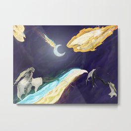 Xelight as Xerailance Metal Print