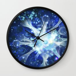 Invisible paths of the Universe. Space Wall Clock