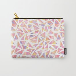 Fragmented Sunrise Carry-All Pouch