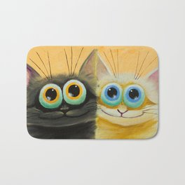 two friends Bath Mat