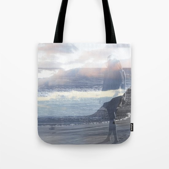 Into the Wave Tote Bag