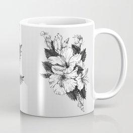 The Chinese Rose & The Tree Frog Coffee Mug