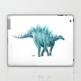Blue Stegosaurus Laptop & iPad Skin