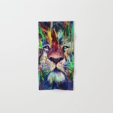 Lion Hand & Bath Towel