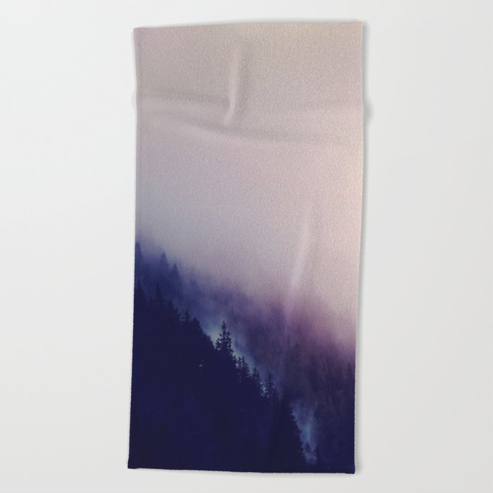 All I see is your ghost Beach Towel