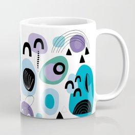 Abtract Shapes Pattern Coffee Mug