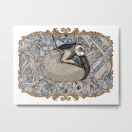 my little ferret  Metal Print