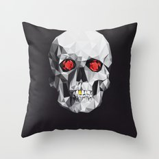 Geometric Eye Candy Throw Pillow
