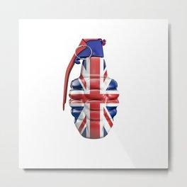 British grenade Metal Print