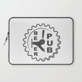 Beer Pub Brewery Handcrafted style Fashion Modern Design Print! Laptop Sleeve