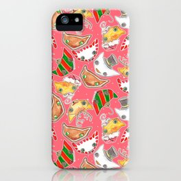"""""""Oro?"""" Christmas PINK iPhone Case"""