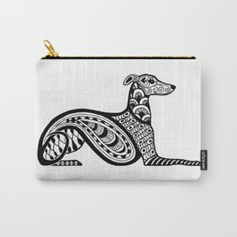 Zentangle Whippet Carry-All Pouch